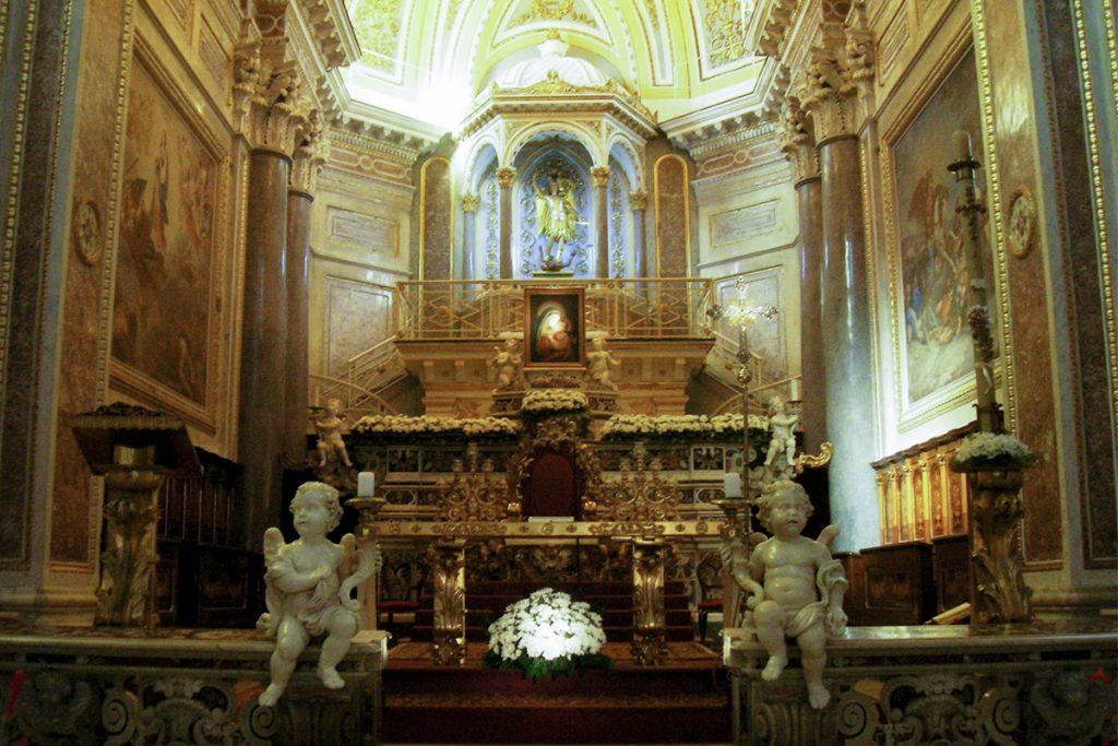 Basilica of San Michele Altar - Piano di Sorrento