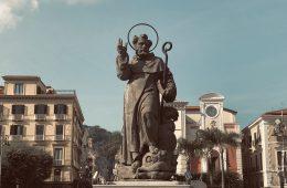 Statua Sant'Antonino - Piazza Tasso - Sorrento