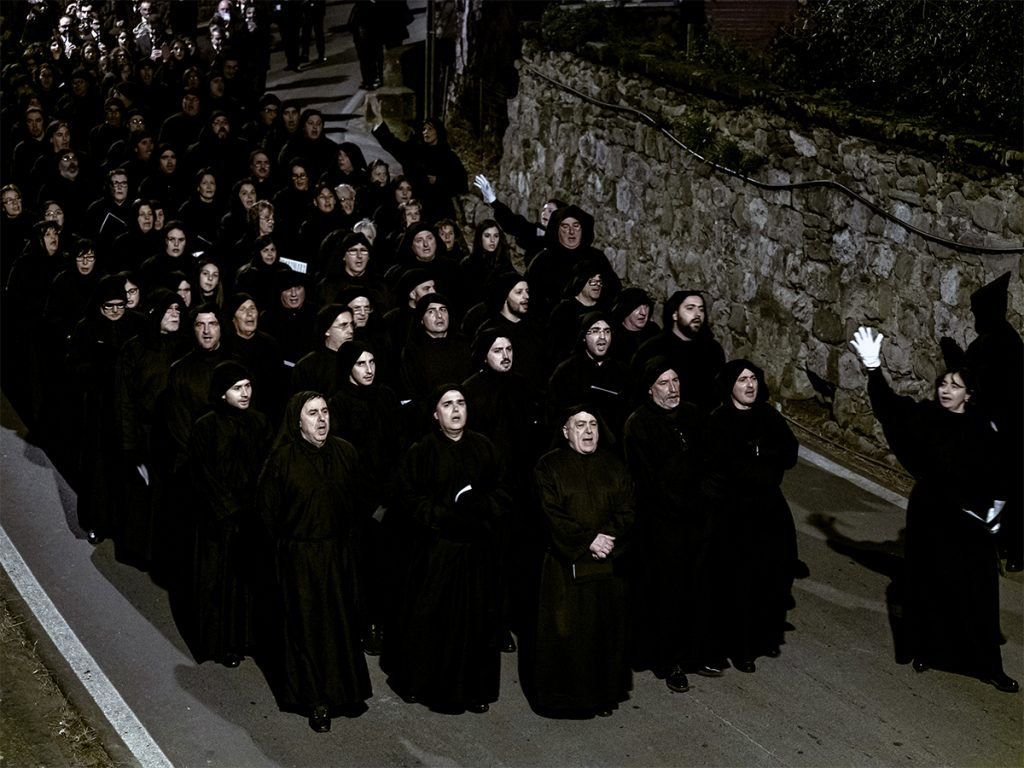 Massa Lubrense, la Processione del Venerdì Santo