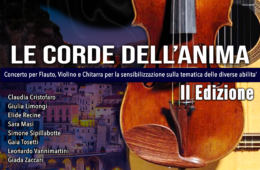 Eventi luglio 2021 Sorrento concerto Le Corde dell'anima villa Fiorentino