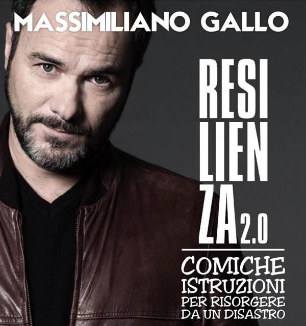 Massimiliano Gallo in Resilenza 2.0 al Summer time Sorrento