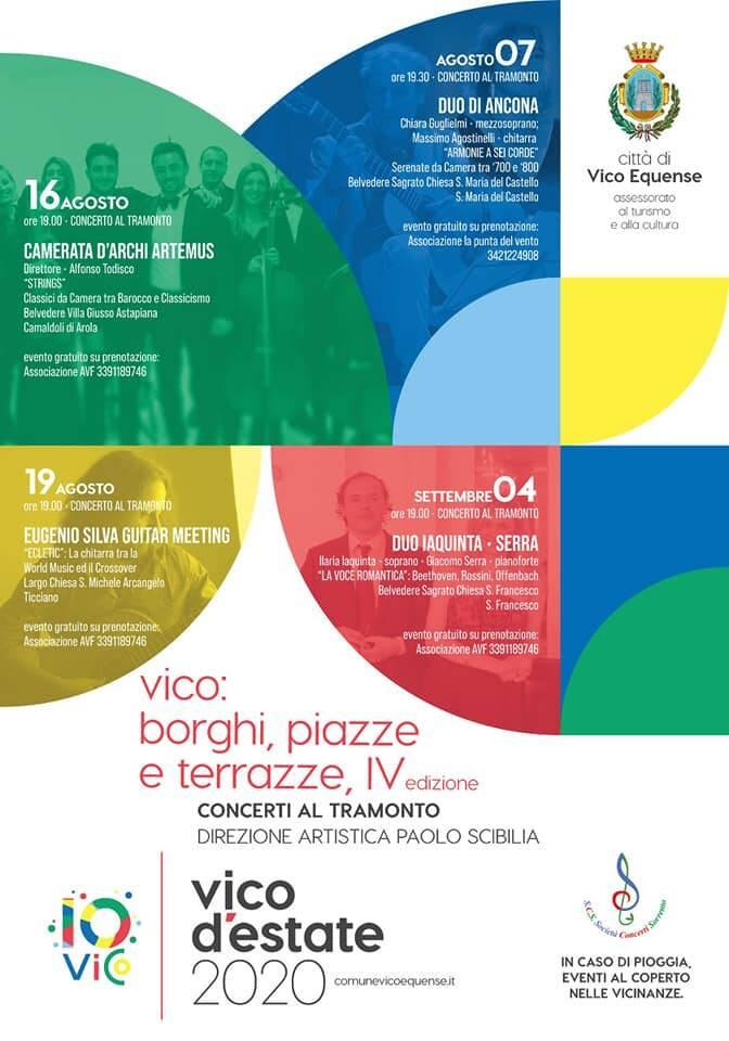 Vico Borghi, Piazze e Terrazze 2020