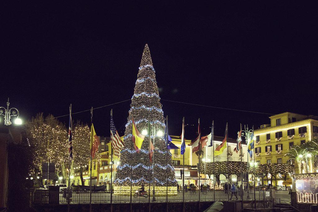 Albero di Natale piazza Sorrento