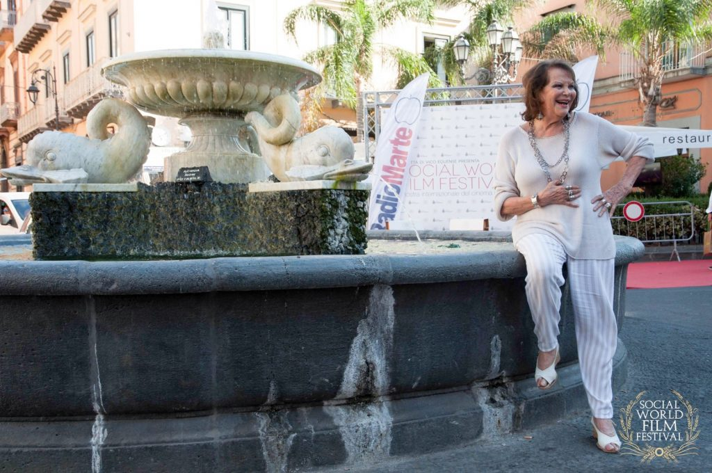 Claudia Cardinale Madrina Social World Film Festival
