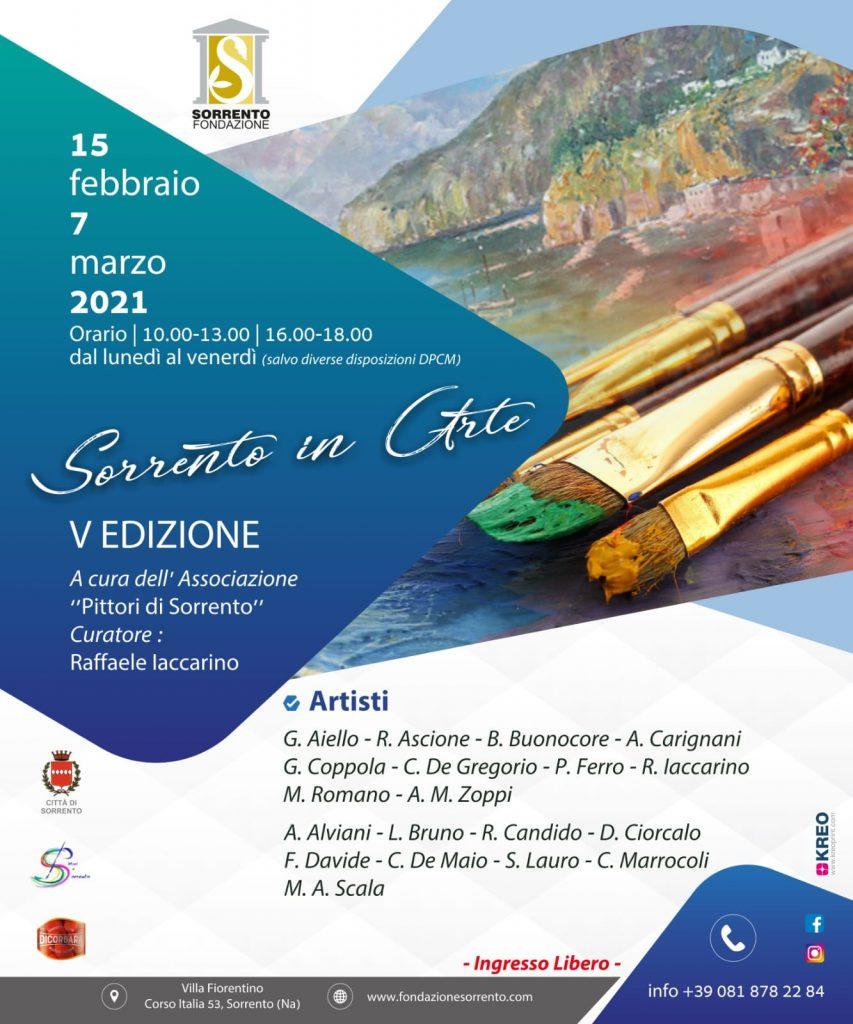 evento Sorrento in Arte Fondazione Sorrento 2021