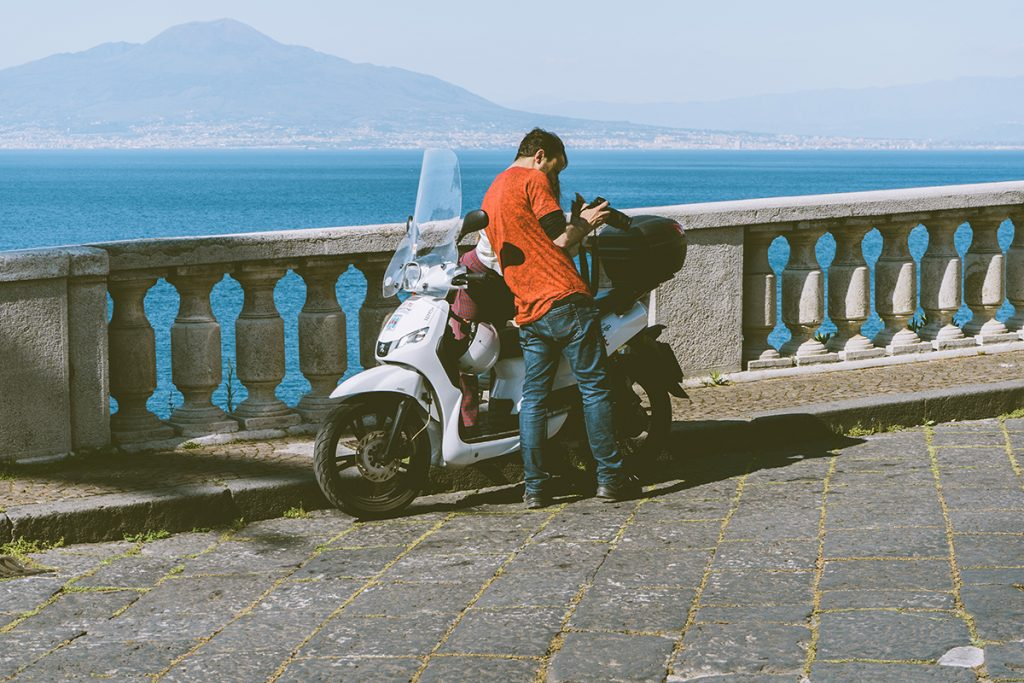 Noleggio Scooter Sorrento, Positano, Nerano Massa Lubrense