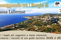 Eventi estate 2021 Massa Lubrense - tour gratis Passeggiando tra i Borghi