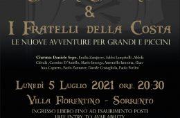 Eventi luglio 2021 Sorrento concerto Daniele Sepe Villa Fiorentino