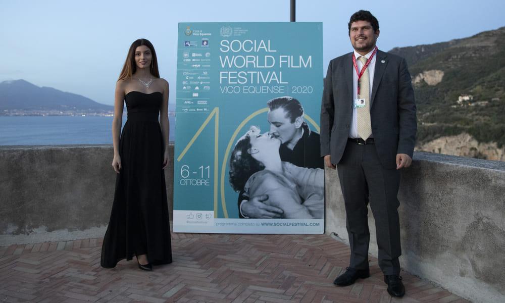 Social World Film Festival Vico Equense Gaia Girace madrina