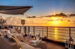 Aperitivo Sorrento Vista Sky Bar Hotel Mediterraneo