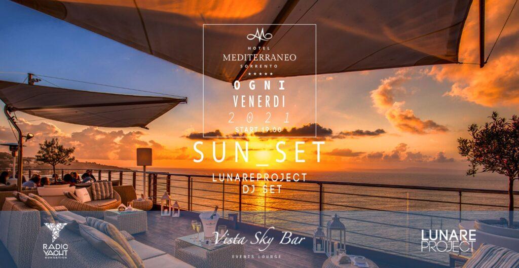 Aperitivo Sorrento Vista Sky Bar Hotel Mediterraneo Venerdì
