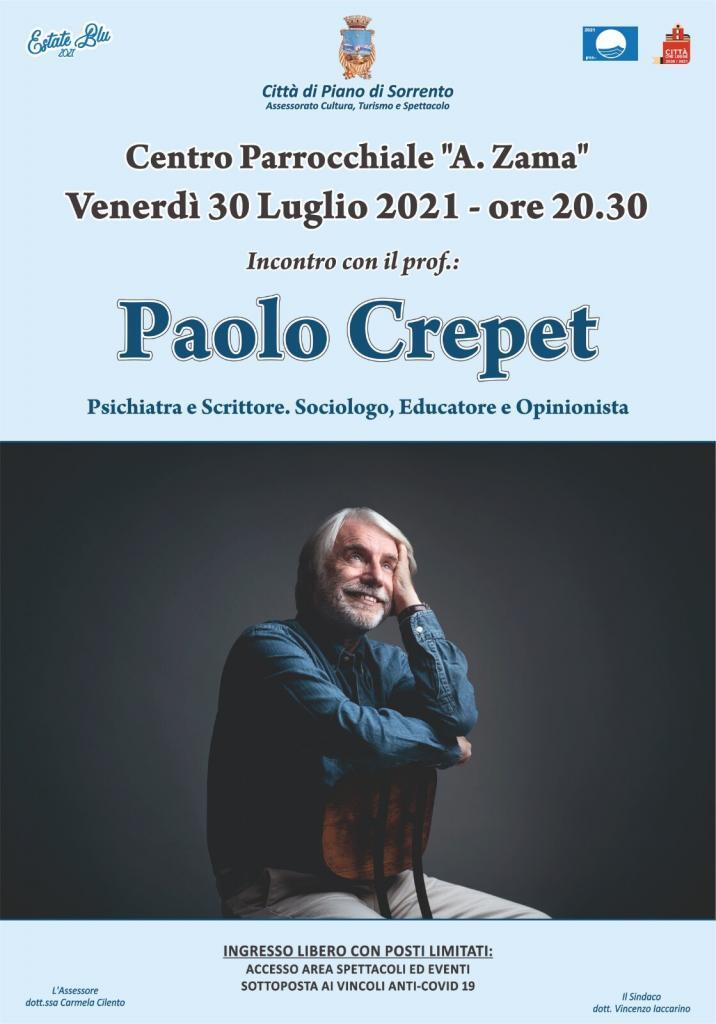 Eventi 30 luglio Piano di Sorrento Paolo Crepet