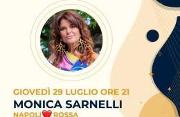 Eventi luglio 2021 agosto aperitivo cena spettacolo Monica Sarnelli