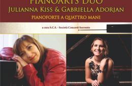 Evento 29 luglio Piano di Sorrento Concerto Pianoarts Duo
