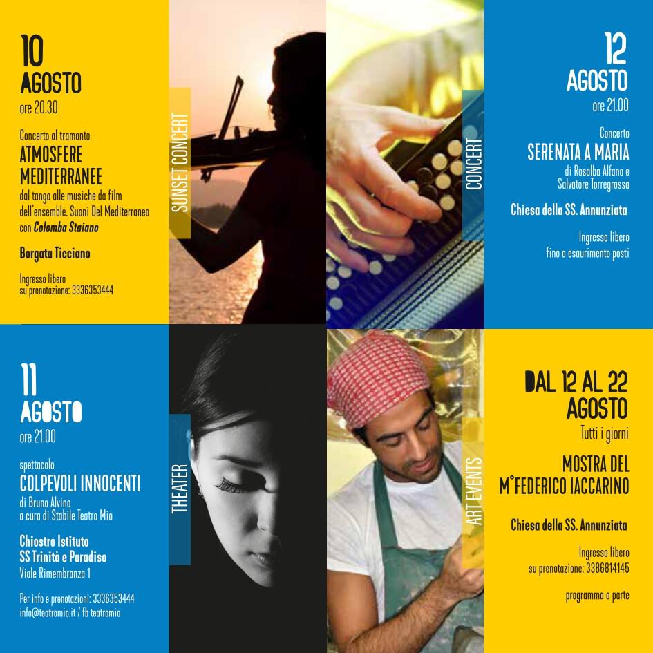 eventi estate 10-12 agosto 2021 Vico Equense Vico d'estate About Sorrento