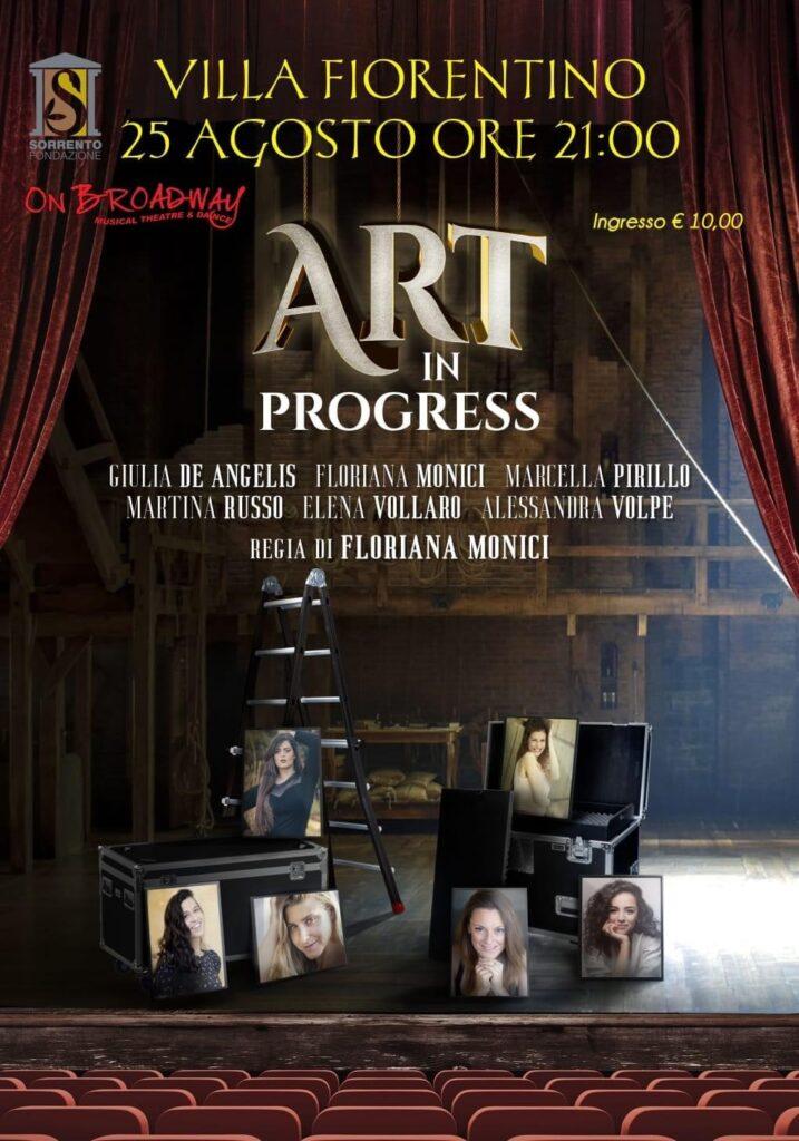 eventi sorrento 2021 art in progress
