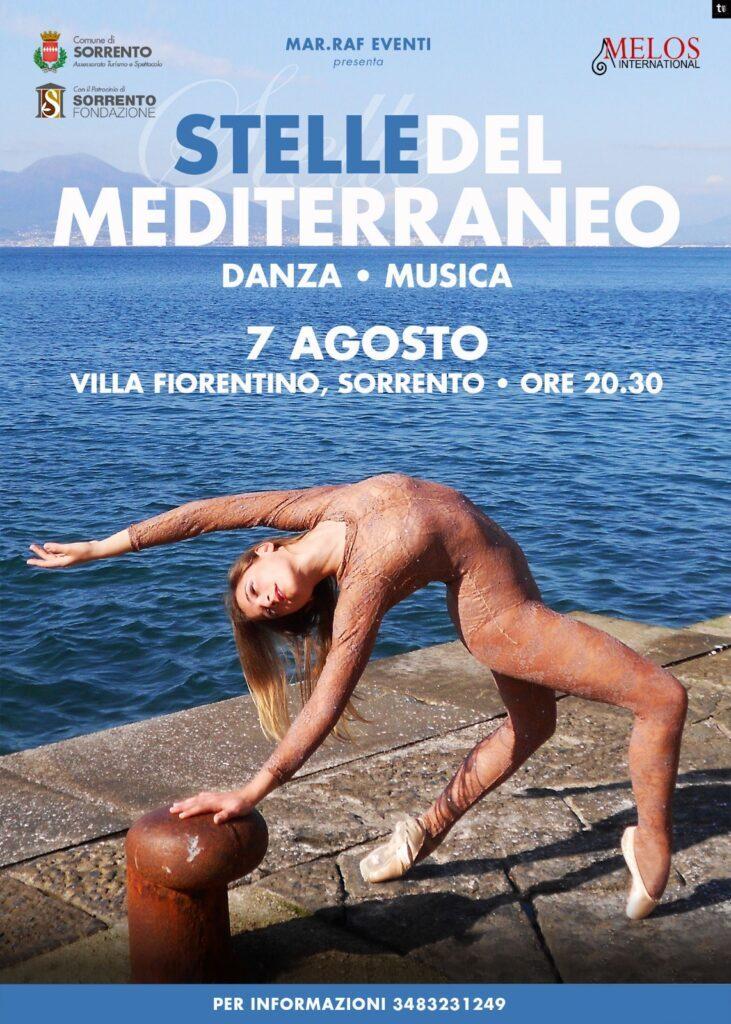 stelle del mediterraneo 2021 eventi estate sorrento