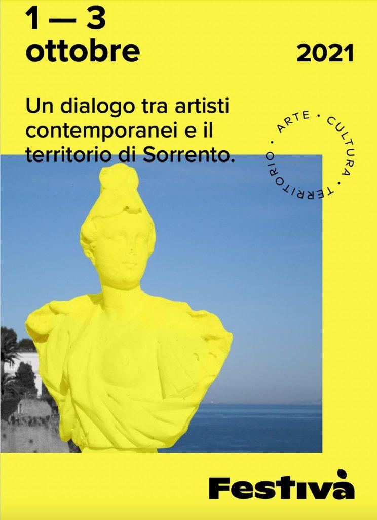 Eventi 1-2-3 ottobre 2021 Sorrento Festivà arte contemporanea