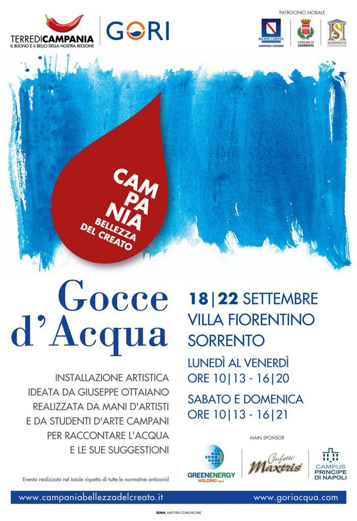 Eventi settembre 2021 - Mostra Gocce d'Acqua maestro Giuseppe Ottaiano