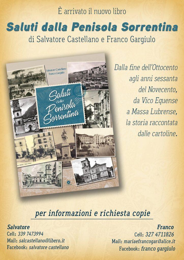 Eventi settembre 2021 Sorrento presentazione libro Saluti dalla Penisola Sorrentina info