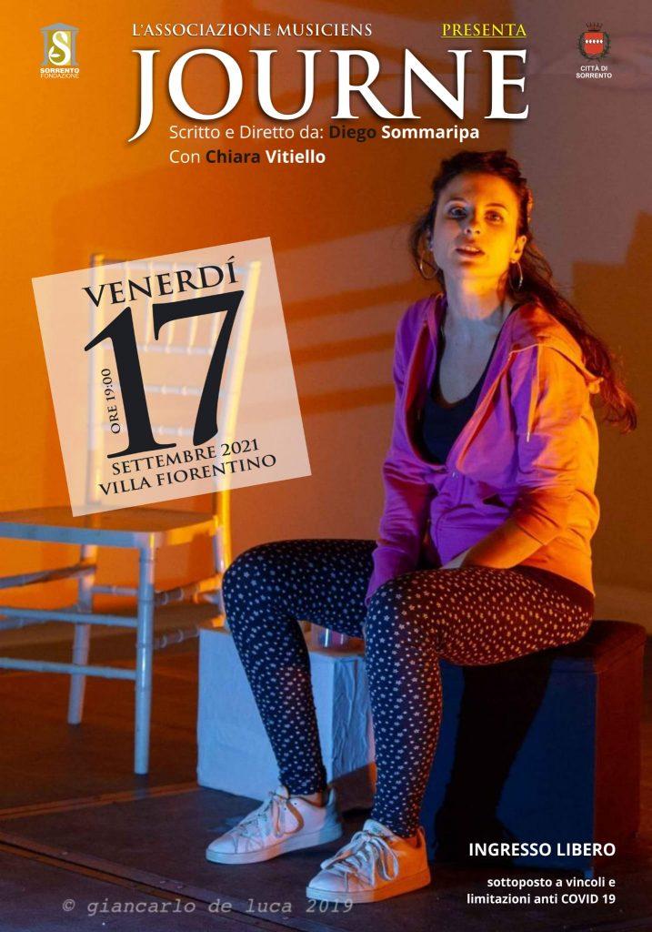 Eventi settembre 2021 Sorrento spettacolo teatrale Journe