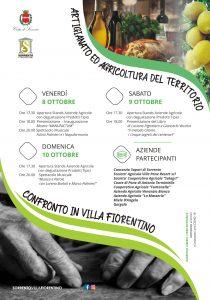 Eventi Ottobre 2021 Sorrento degustazioni gratuite agricoltura Villa Fiorentino