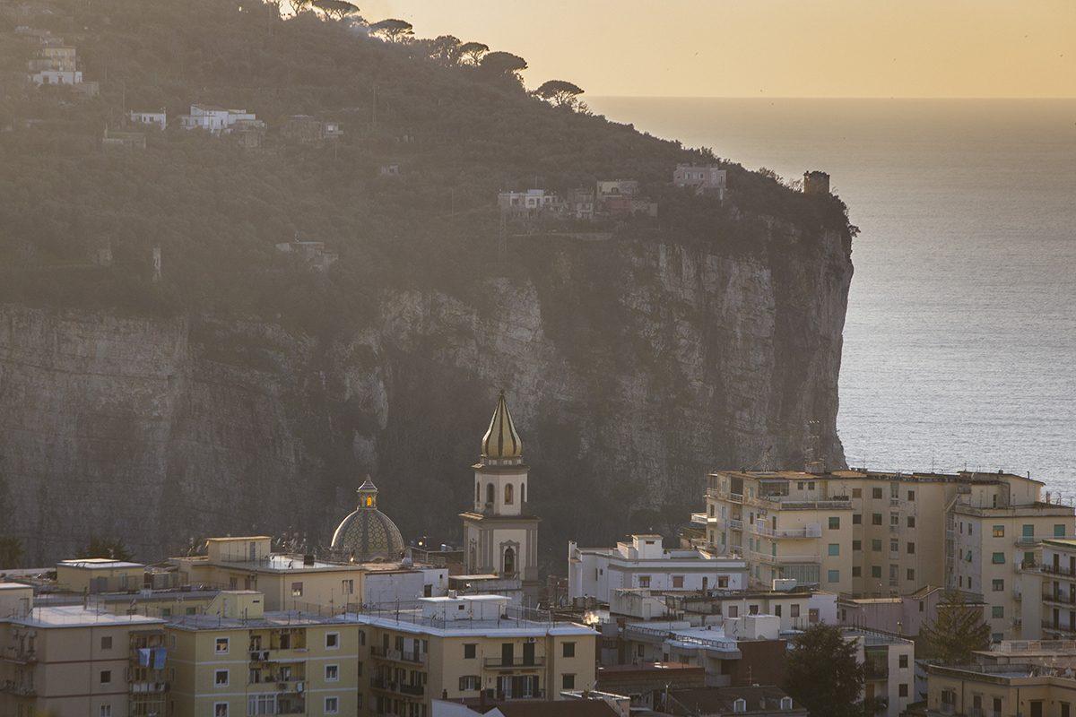 Il campanile San Ciro e San Giovanni - Vico Equense