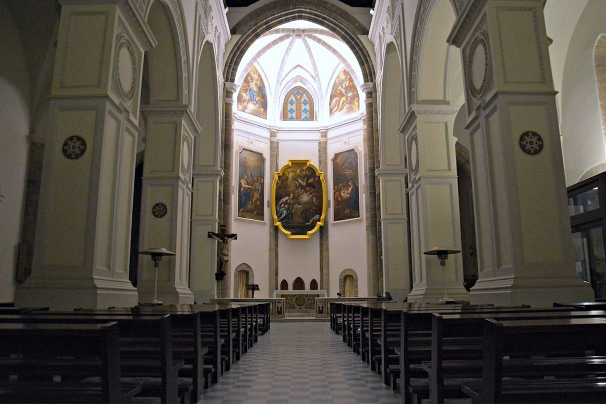 Church of SS Annunziata Interior