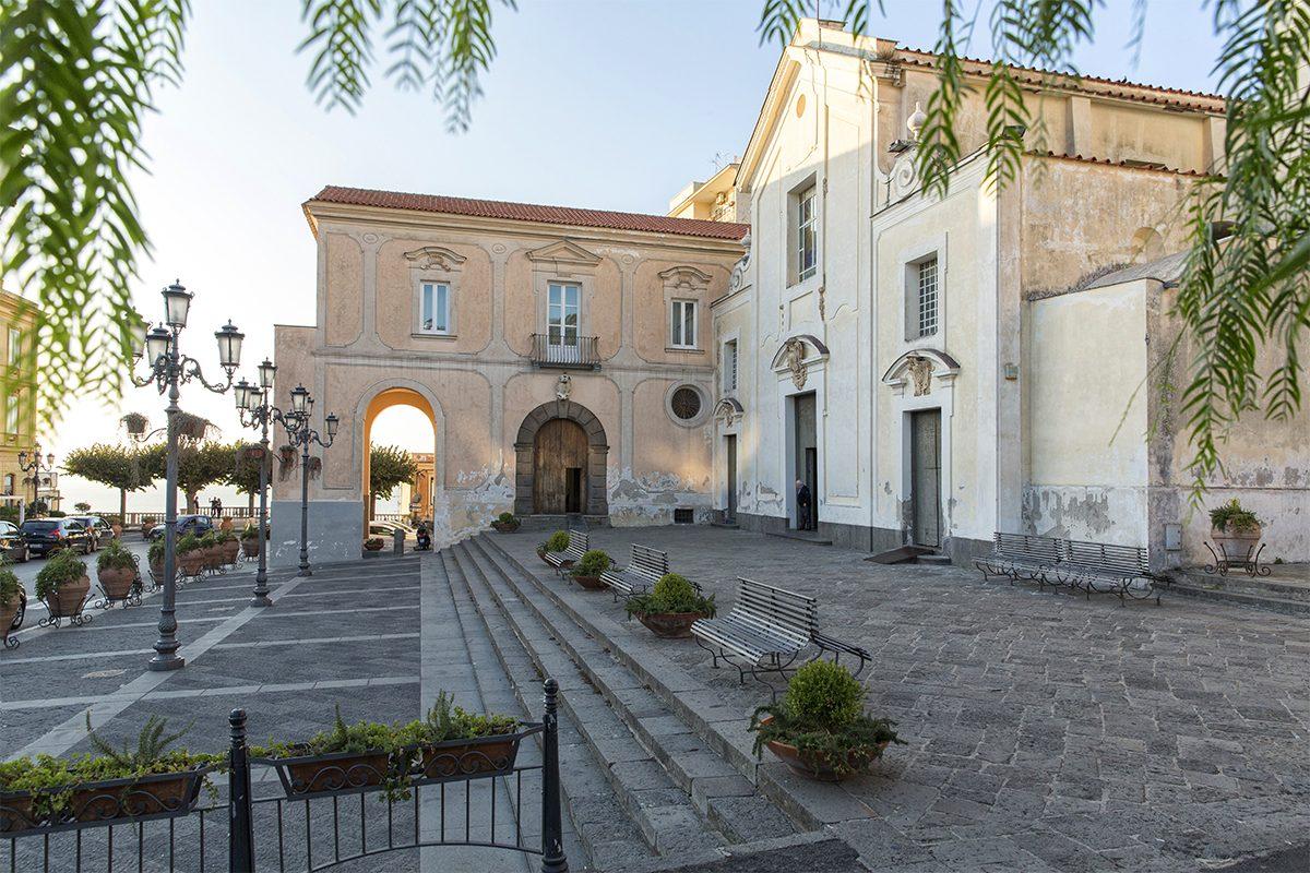 Small square - Massa Lubrense