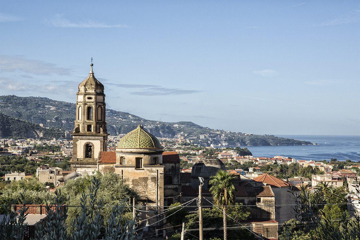 Panoramic view - Basilica of Santa Maria del Lauro Dome